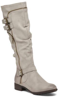 High Shaft Side Zip Boots