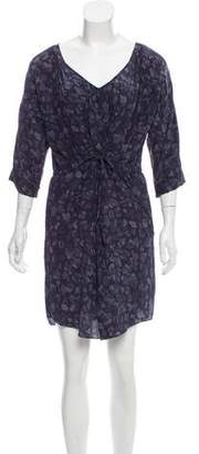 Rebecca Taylor Printed Silk Dress