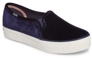 Keds R) Triple Decker Slip-On Platform Sneaker
