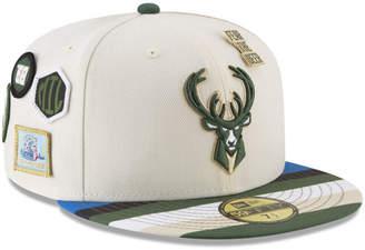 New Era Milwaukee Bucks City On-Court 59FIFTY Fitted Cap
