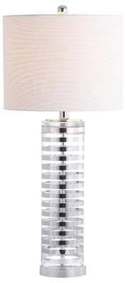 Orren Ellis Stegall Glass 30 Table Lamp