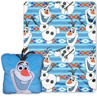 "Disney Frozen ""All About Olaf"" 3D Pillow & Throw Set"
