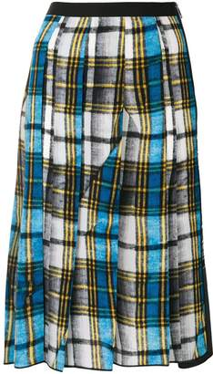 Marc Jacobs plaid midi skirt