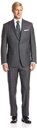 Franklin Tailored Men's Check Tracy Suit