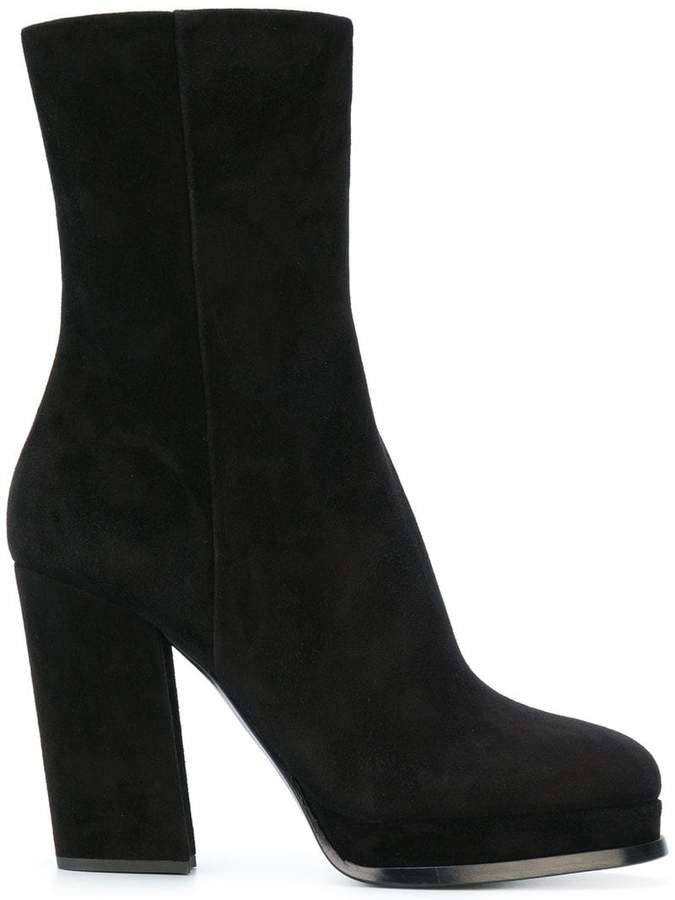 Giorgio Armani platform boots