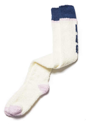 UGG Over The Knee Fuzzy Logo Socks