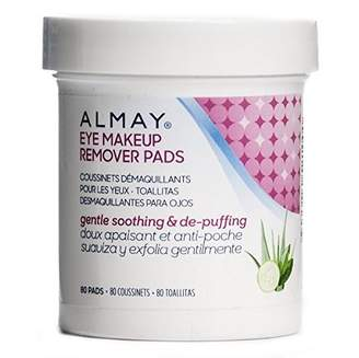 Almay Oil Free Gentle Eye Makeup Remover Pads, 80 Ct by by