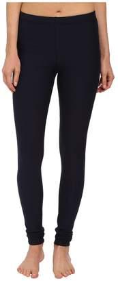 Plush Fleece-Lined Cotton Legging Women's Casual Pants