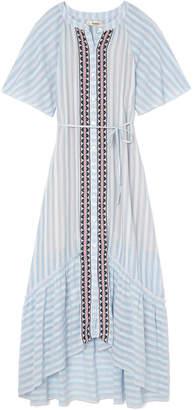 Lemlem Nefasi Maxi Shirt Dress