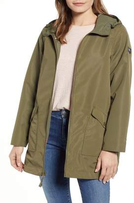 Joules Dockland Reversible Hooded Raincoat