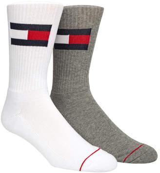 Tommy Hilfiger Men 2-Pk. Logo Crew Socks