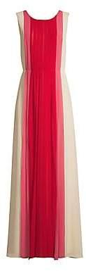 BCBGMAXAZRIA Women's Pleat Front Gown - Size 0