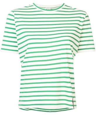 Kule Green Striped T-Shirt