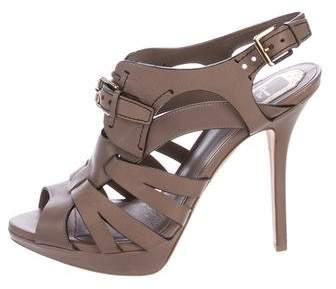 Christian Dior Platform Cage Sandals