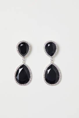 H&M Earrings - Black