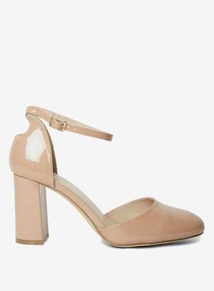 e488e256edd7 Dorothy Perkins Womens Wide Fit Nude  Deena  Court Shoes