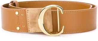 Chloé C buckle belt