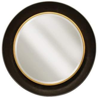 Charlton Home Iliomar Round Beveled Accent Mirror