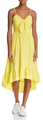 Joie Clorinda Tie-Front Dress