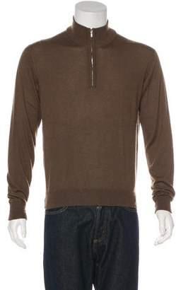 Loro Piana Cashmere Half-Zip Sweater