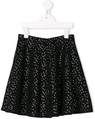 Señorita Lemoniez dot printed skirt