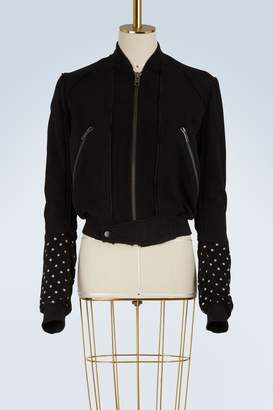 Haider Ackermann Dots bomber jacket