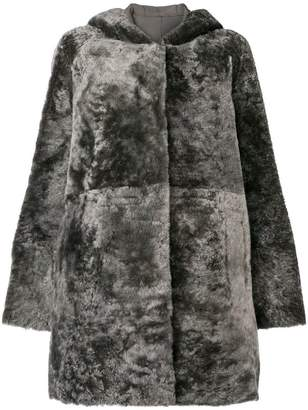 Drome hooded coat