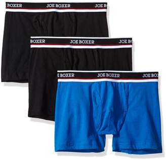 Joe Boxer Men's 3 Pack Stretch Boxer Brief