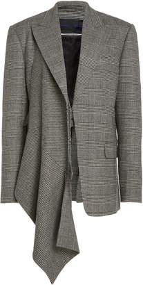 Proenza Schouler Draped Wool Blazer