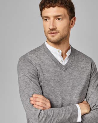 Ted Baker MINVEE Knitted V neck jumper