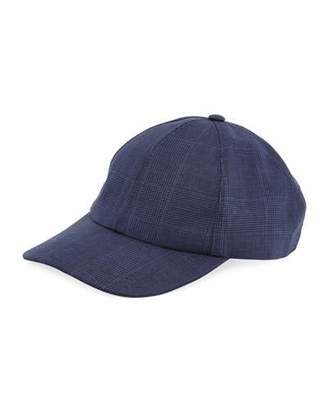 Brunello Cucinelli Solid Wool-Blend Baseball Cap