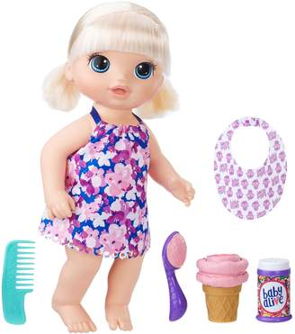 Hasbro Baby Alive Blonde Magical Scoops Baby Doll