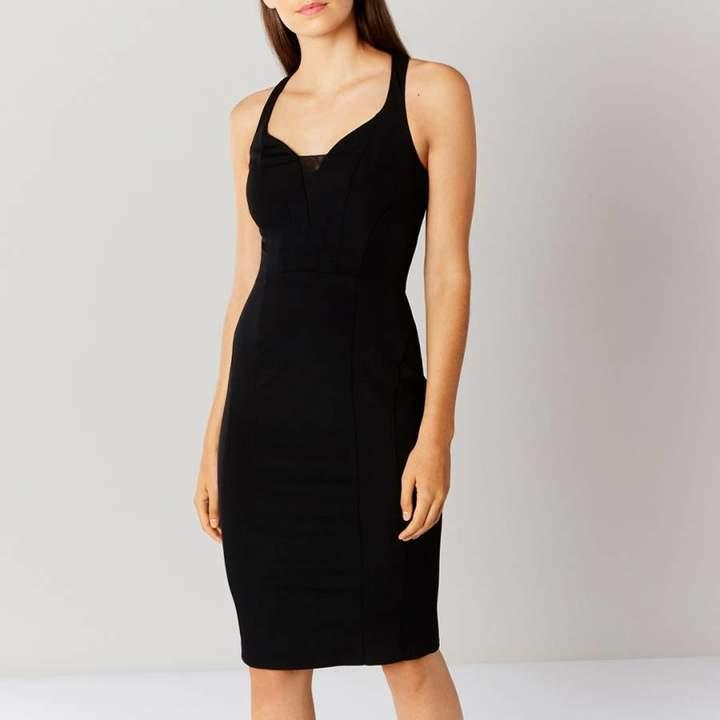 Black Victoria Shift Dress