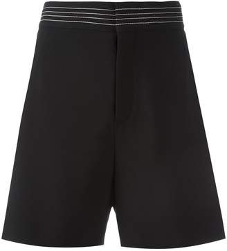 Chloé stripe cady shorts