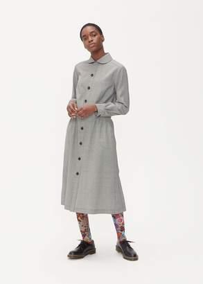 Comme des Garcons Long Sleeve Gingham Dress