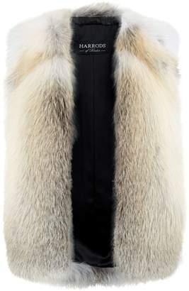 Harrods Fox Fur Gilet