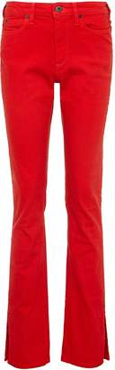Simon Miller Split cuff slim fit flared skinny jeans