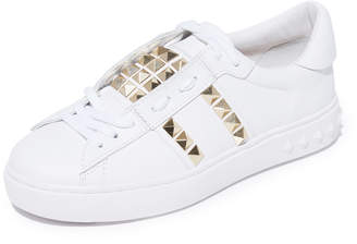 Ash Party Studded Sneakers $185 thestylecure.com
