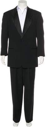 Giorgio Armani Wool One-Button Tuxedo