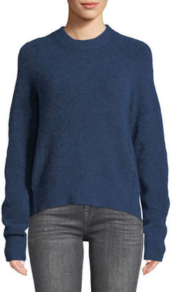 8f4e9bfeb545 3.1 Phillip Lim Crewneck High-Low Pullover Sweater