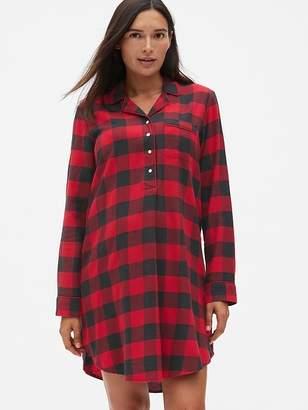 Gap Maternity Flannel Sleep Shirt
