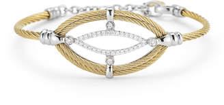 Alor Marquise Diamond-Station Cable Bracelet