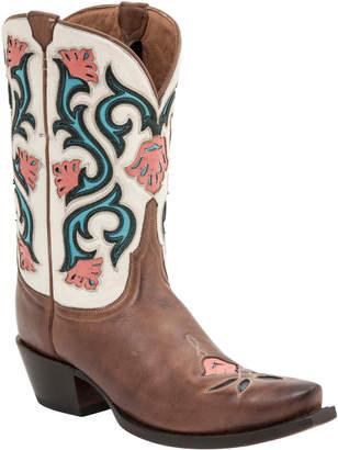 Lucchese Women's Belle Calf Western Boot