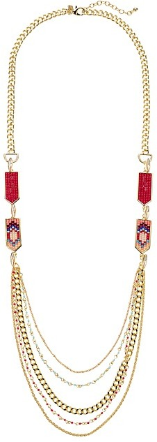 Rebecca Minkoff Rebecca Minkoff - Catalina Seed Bead Layering Necklace Necklace