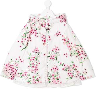 Moncler floral print rain jacket