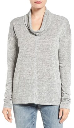 Women's Lucky Brand Cowl Neck Tunic $49.50 thestylecure.com
