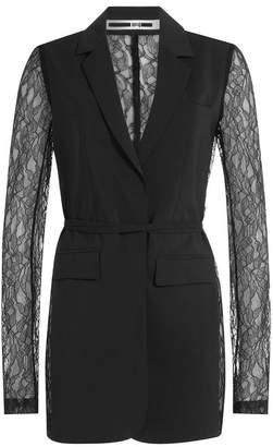 McQ Blazer with Lace Sleeves