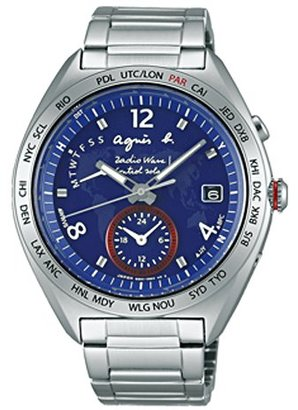 agnès b. (アニエス ベー) - アニエスベー agnesb マルセイユ ソーラー電波 FBRY997 [国内正規品] メンズ 腕時計 時計