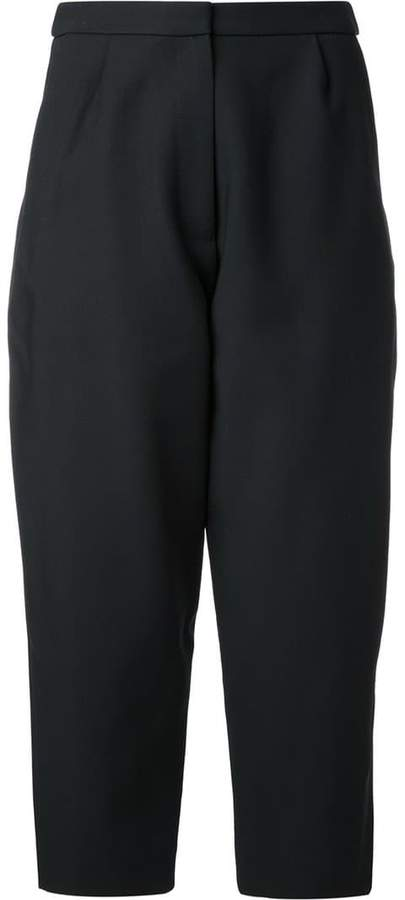 Studio Nicholson loose-fit cropped trousers