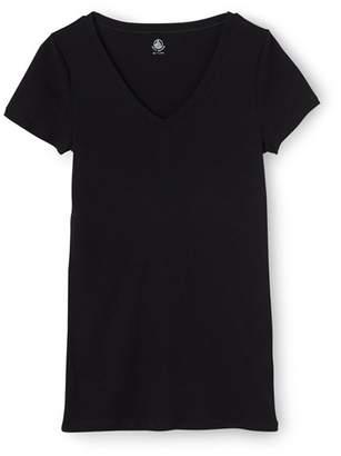 Womens v-neck light cotton tee $59 thestylecure.com